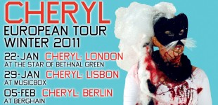 CHERYL EUROPEAN TOUR WINTER 2011