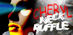 CHERYL: NECK RUFFLE