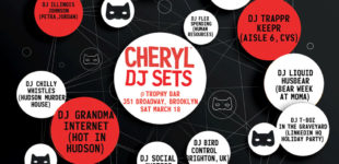 CHERYL DJ SETS at TROPHY